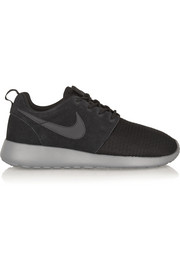 Roshe Run Winter mesh and suede sneakers