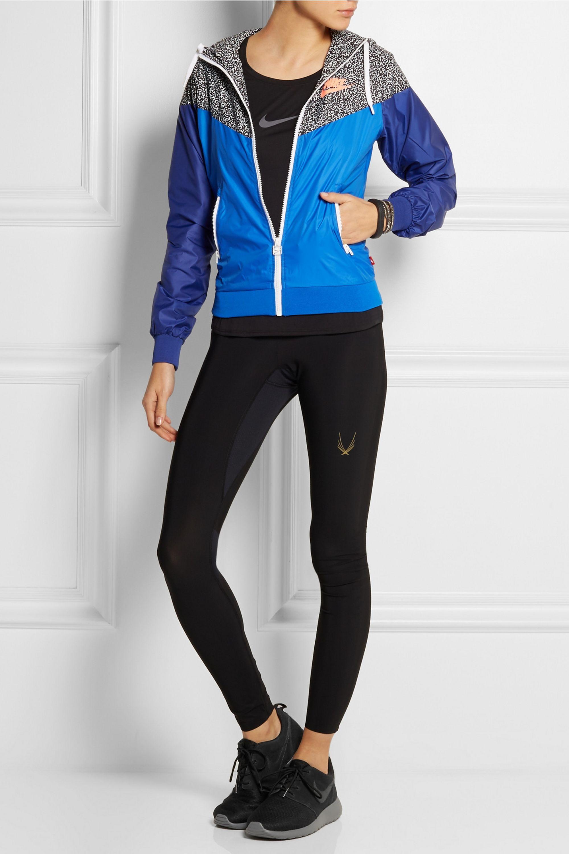 Nike Roshe Run Winter mesh and suede sneakers