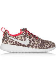 Nike Roshe Run printed shell sneakers