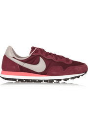 Nike Air Pegasus 83 suede and mesh sneakers