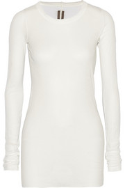 Rick Owens Cotton-jersey top