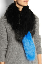 Finds + Charlotte Simone Popsicle faux fur stole