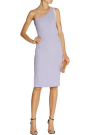 Roland Mouret Aglais one-shoulder wool-crepe dress