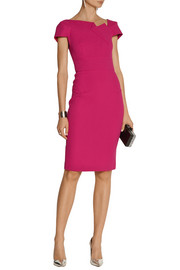 Roland Mouret Lepas wool-crepe dress