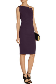 Roland Mouret One-shoulder stretch-crepe dress