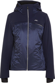 Cape shell and stretch ski jacket