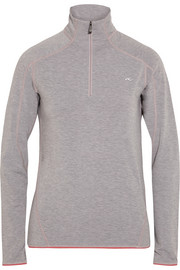 Trace stretch micro fleece top