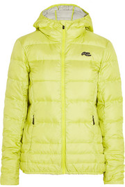 Cypress quilted shell down ski jacket