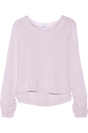 Active Always cropped French terry sweatshirt