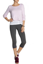 Splendid Active Always cropped French terry sweatshirt
