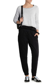 Splendid Active Always cropped terry sweatshirt