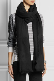 Tibi Wool and cashmere-blend scarf