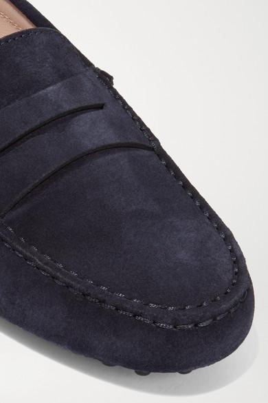 Tod's Gommino Loafers aus Veloursleder