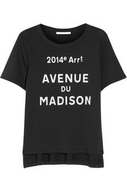 Jonathan Simkhai Avenue du Madison pima cotton T-shirt