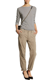 NLST Cotton-twill straight-leg pants
