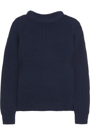 NLST Ribbed merino wool sweater