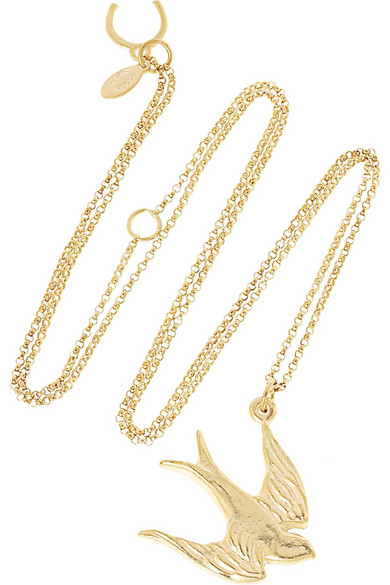 Giles brother sparrow pendant necklace net a porter giles brother sparrow pendant necklace aloadofball Images