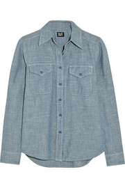 NLST Naval cotton-chambray shirt