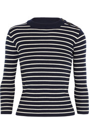 Sailor striped merino wool sweater