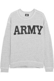 NLST Army cotton-terry sweatshirt