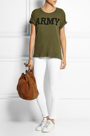 NLST Army cotton-blend jersey T-shirt