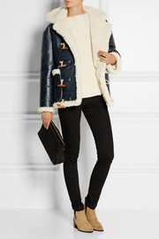 NLST Shearling coat