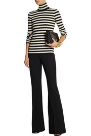Michael Kors Stretch-wool gabardine flared pants