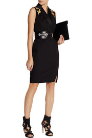 Altuzarra for Target Embroidered cotton-blend twill dress