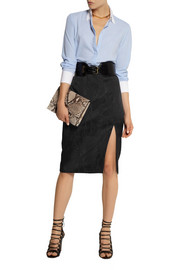 Altuzarra for Target Python-jacquard pencil skirt