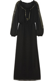 Altuzarra for Target Sequined Swiss-dot chiffon maxi dress