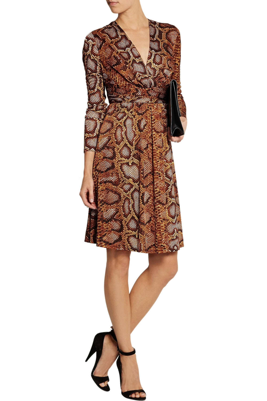 Altuzarra for Target Python-print satin-jersey dress