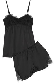 Altuzarra for Target Lace-trimmed satin pajama set