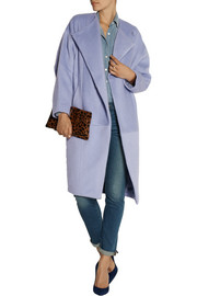 Maje Germain oversized felt coat