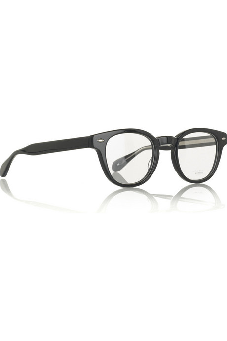 Oliver Peoples | Sheldrake clear-lens glasses | NET-A-PORTER.COM from net-a-porter.com