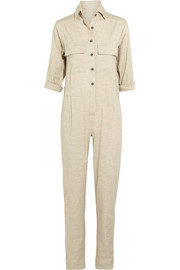 + Jesse Kamm stretch linen-blend jumpsuit