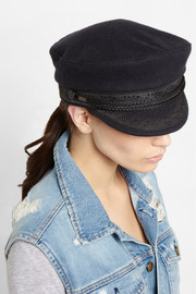 Finds + Lock & Co Hatters embroidered wool-blend felt cap