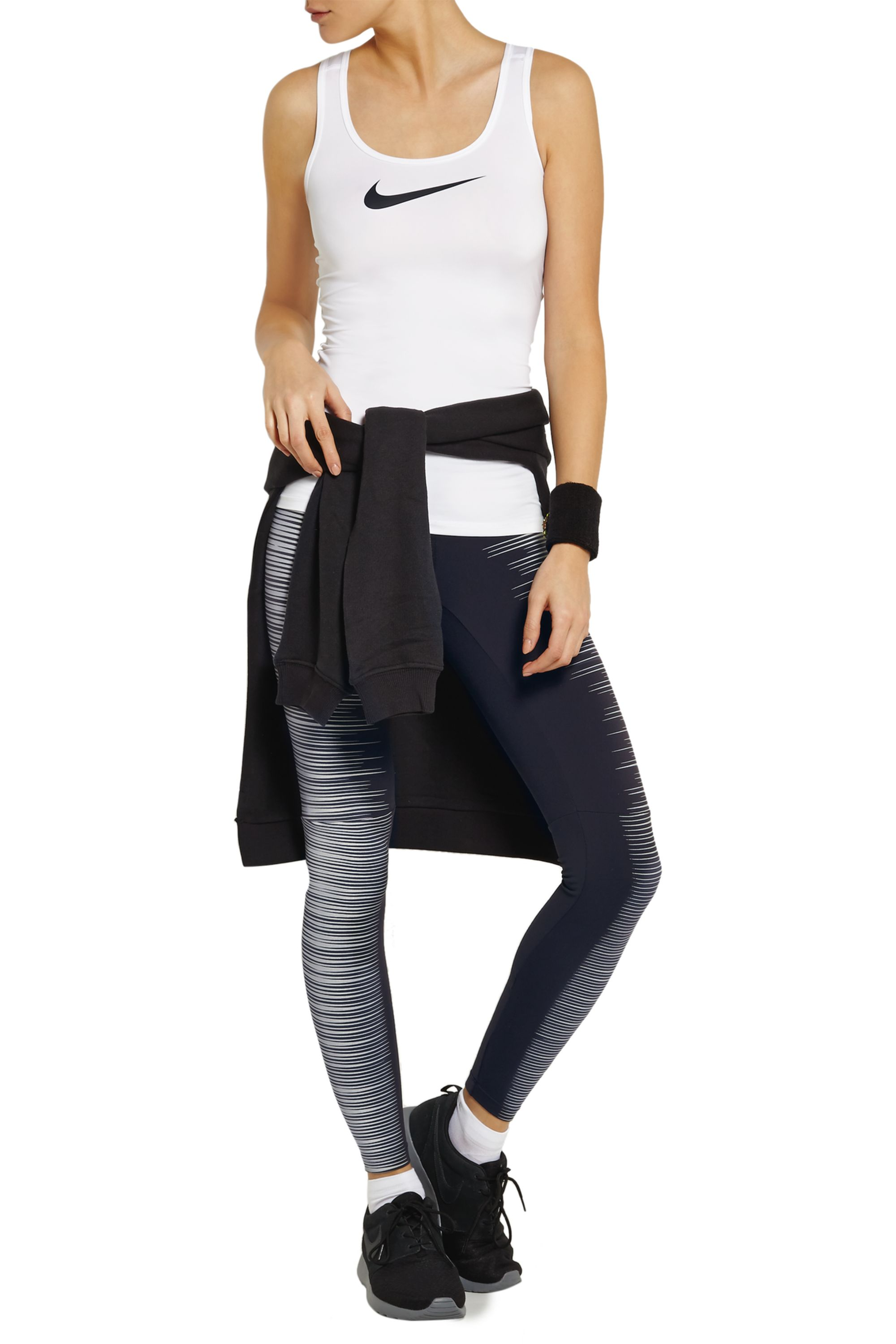 Nike Printed Reflective stretch-jersey leggings