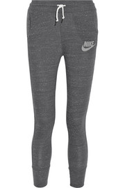 Nike Gym Vintage organic cotton-blend jersey track pants