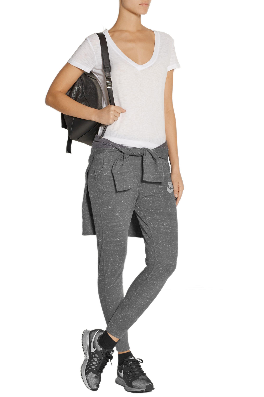 Nike Gym Vintage organic cotton-blend jersey track pants