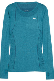Nike Dri-FIT Knit stretch-jersey top