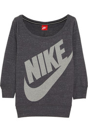 Nike Gym Vintage cotton-blend jersey sweatshirt