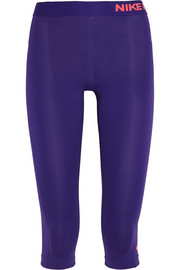 Pro Capri stretch-jersey leggings