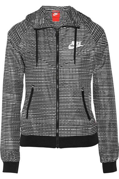 Nike Windrunner Imprimé De Tissu En Veste Imperméable Running pnrwgpRq