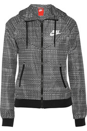 Windrunner printed shell running jacket