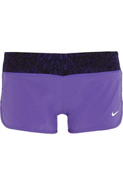 Rival jersey and shell running shorts