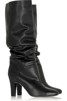 Stella McCartney Slouchy faux leather boots