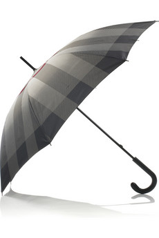 Burberry Large checked umbrella