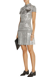 Finds + Teatum Jones Dixie embellished jacquard mini dress
