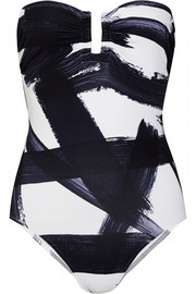 Eres Paint Cassiopee printed swimsuit