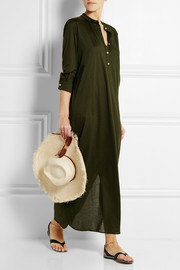 Zephyr Sahara cotton-jersey maxi dress
